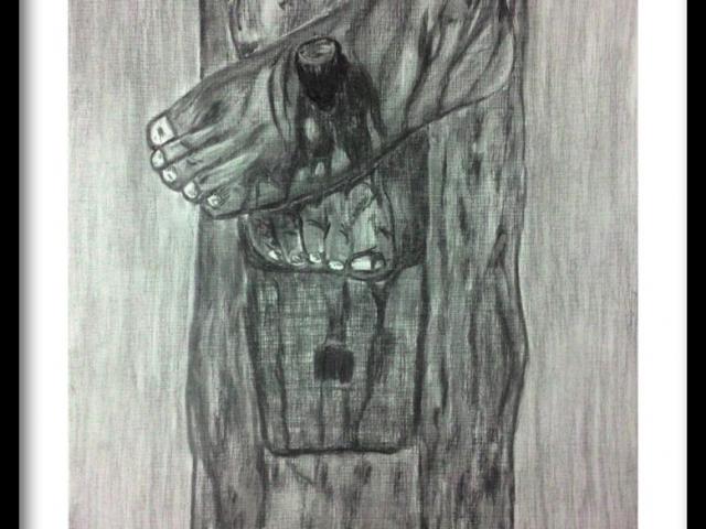 ClodiSuares_Charcoal_drawing
